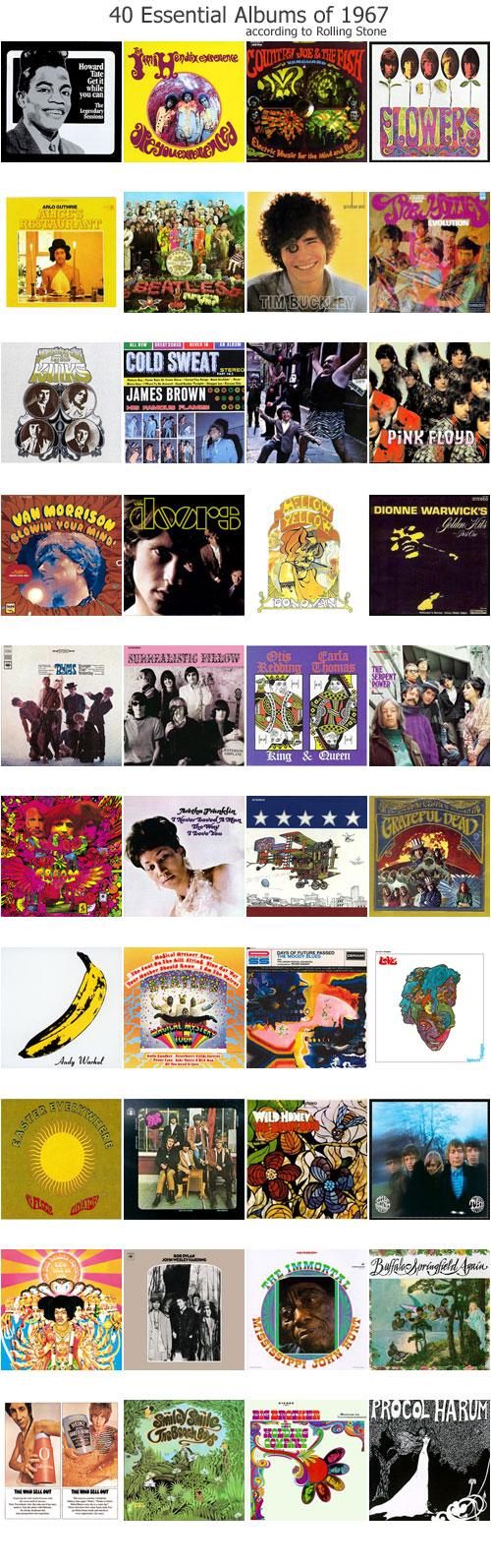 2007.07.08 40 Essential Albums
