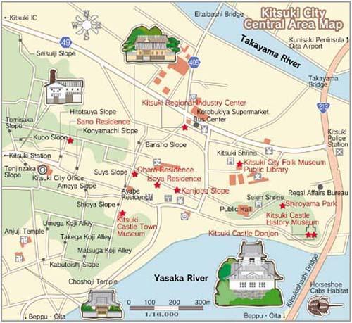 Kitsuki Map
