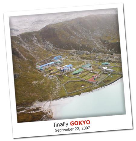 2007.09.22 Gokyo