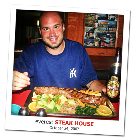 2007.10.24 Everest Steak House