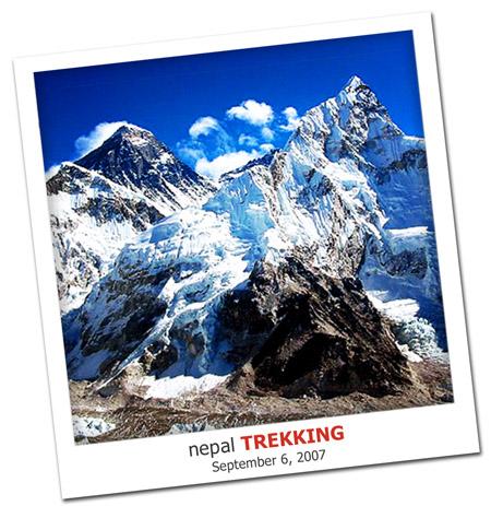 2007.09.06 Nepal Trekking
