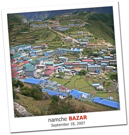 2007.09.18 Namche Bazar