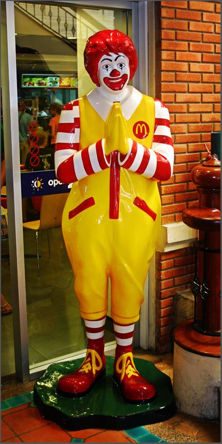 2007.11.07 Thai Ronald McDonald