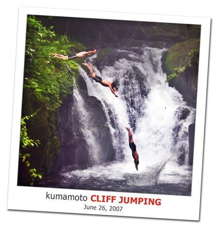 2007.06.26 Kumamoto Cliff Jumping