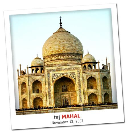2007.11.13 Taj Mahal Madness