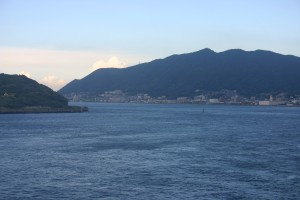Last view of Japan