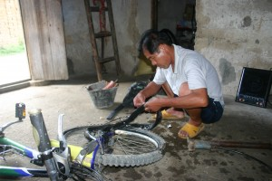 Fixing the Bike