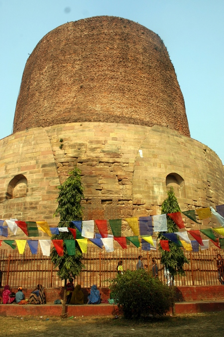 Dhamekh Stupa, site of Gautama Buddha's first sermon